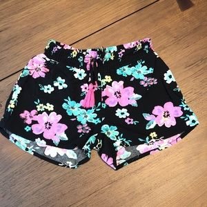 Justice Floral Girls Dress Shorts Size 6/7